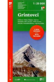 Planinska zveza Slovenije Grintovci 1 : 25000