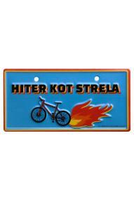 Fahrradschild Schnell wie der Blitz