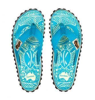 Ženski natikači Gumbies Turquoise