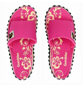 Ženske natikače Gumbies Slide Pink Hibiscus