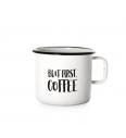 Emajlirani lončić (0.37L) Cuckoo Cups But First Coffe