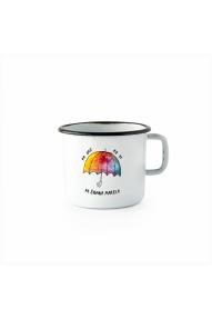 Emailierter Becher (0,37 L) Cuckoo Cups Marela