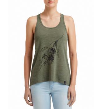 Ženska majica brez rokavov Hybrant All Alone 2.0