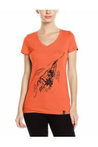 Ženska majica s kratkimi rokavi Hybrant All Alone