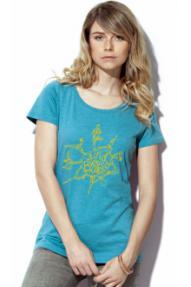 Women sleeveless T-shirt Find your Balance Hybrant 3.0