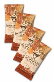 Set barrette energetiche Chimpanzee Cashew Caramel 4 per 3