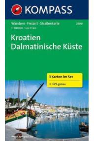 Zemljovid Kompass Dalmacija 2900- 1:100.000