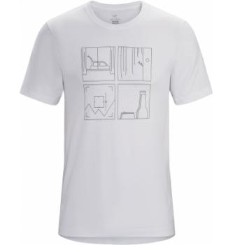 Moška majica s kratkimi rokavi Arcteryx Quadrants