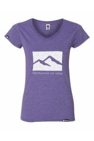 Kububa Damen Kurzarm-Shirt Abenteuer in Sicht