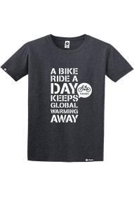Majica s kratkimi rokavi Kibuba Bike Ride 2.0