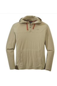 Maglione con cappuccio da uomo Outdoor Research Red Rock