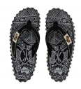 Damen Slippers Gumbies Black Signature