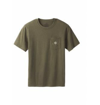Moška majica s kratkimi rokavi Prana Dirtbag Pocket