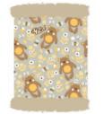Dječje višenamjensko pokrivalo 4Fun Polartec Bear