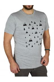 Men T-shirt  Hybrant Pattern
