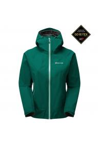 Women waterproof jacket Montane Pac plus