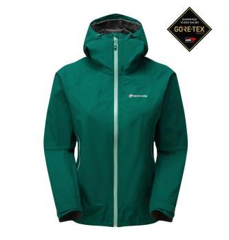Women waterproof jacket Montane Pac plus
