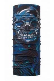 Fascia multiuso da bambino Buff Original  Boarding Skull Navy