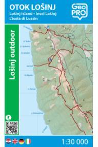 Zemljovid GeoPRO Otok Lošinj