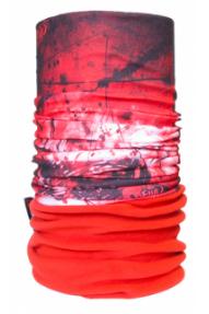 Večnamensko pokrivalo 4Fun Polartec Drakkar red