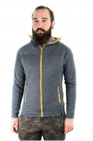 Herren Fleece-Jacke Hybrant Solitary Eagle