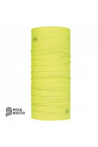 Večnamensko pokrivalo Buff Reflective R-Solid Yellow Flour