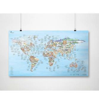 Plezalni zemljevid sveta