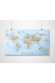 Wander-Weltkarte