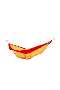 Ticket To The Moon Dark Yellow-Burgundy single hammock