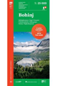 Planinska karta Bohinj 1: 25.000 (2019)