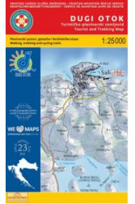 Landkarte HGSS Dugi Otok 23