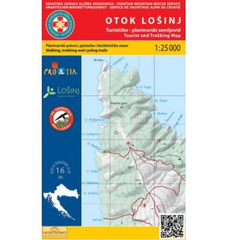 Zemljevid HGSS Otok Lošinj 16