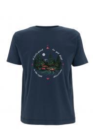 Men T-shirt Hybrant Camper Life