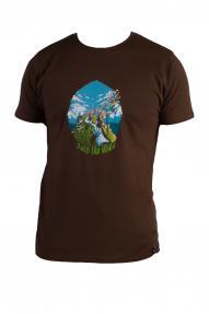 Men T-shirt Hybrant Into The Wild