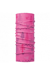 Kinder Multifunktions-Kopftuch Buff Original Woods Pink