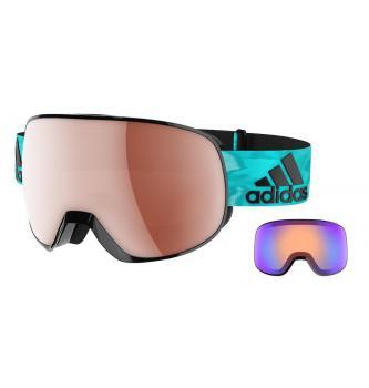 Komplett Skibrille + Tasche Adidas Progressor PRO