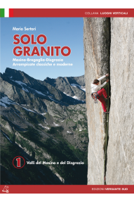 Climbing guide in italian Solo Granito VOL. 1