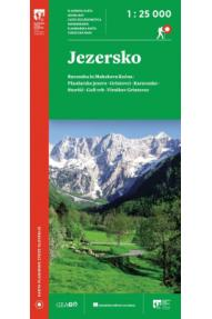 Hiking map PZS Jezersko 1:25000