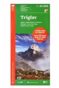 Triglav 1:25 000 map