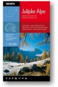 Zemljevid Julijske Alpe 1:50.000