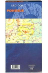 Zemljevid Pohorje - 1:50.000