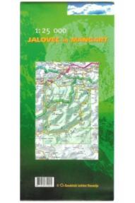 Landkarte Jalovec und Mangart - 1:25.000 (Slovenische Alpinverei
