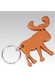 Moose Keychain and Bottle Opener