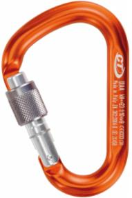 Snappy Red Screwgate Carabiner