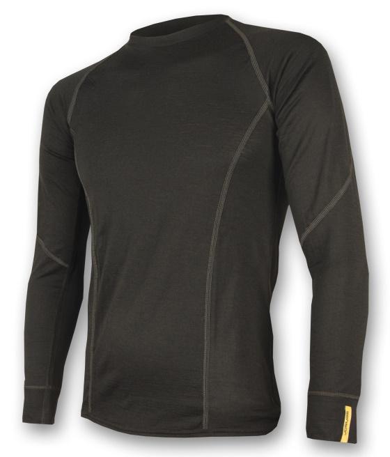 Sensor Mens 39 Merino Active Long Sleeve Shirt Kibuba
