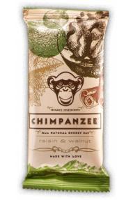 Barretta energetica naturale Chimpanzee Raisins and Nuts