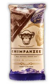Naravna energijska ploščica Chimpanzee Chocolate Date