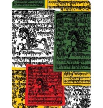 Večnamensko pokrivalo Tibetanian Flags