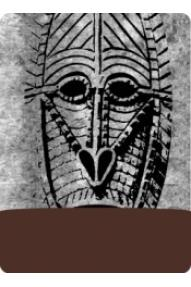 Višenamjenska Polartec marama Afro Mask