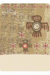 Višenamjenska Polartec marama Aztec Bird